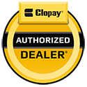 Pioneer Overhead Door Sales is proud to be a Clopay Authorized Dealer.